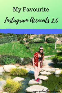 see heather smile, favourite, instagram accounts, smiling, laughing, japanese garden, green