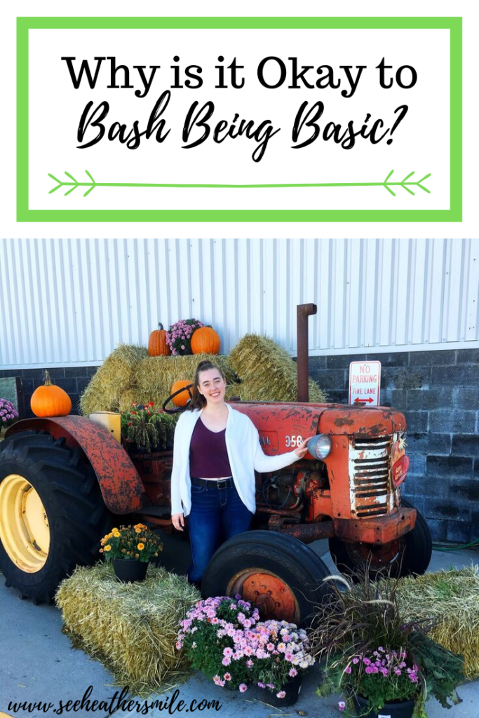 see heather smile, being basic, fall, autumn, tractor, pumpkins, fall flowers, hay bales, harvest, harvest moon