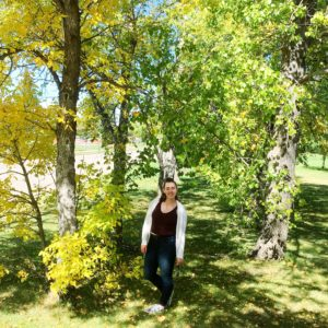 see heather smile, fall, trees, forest, orange, yellow, planet, environment