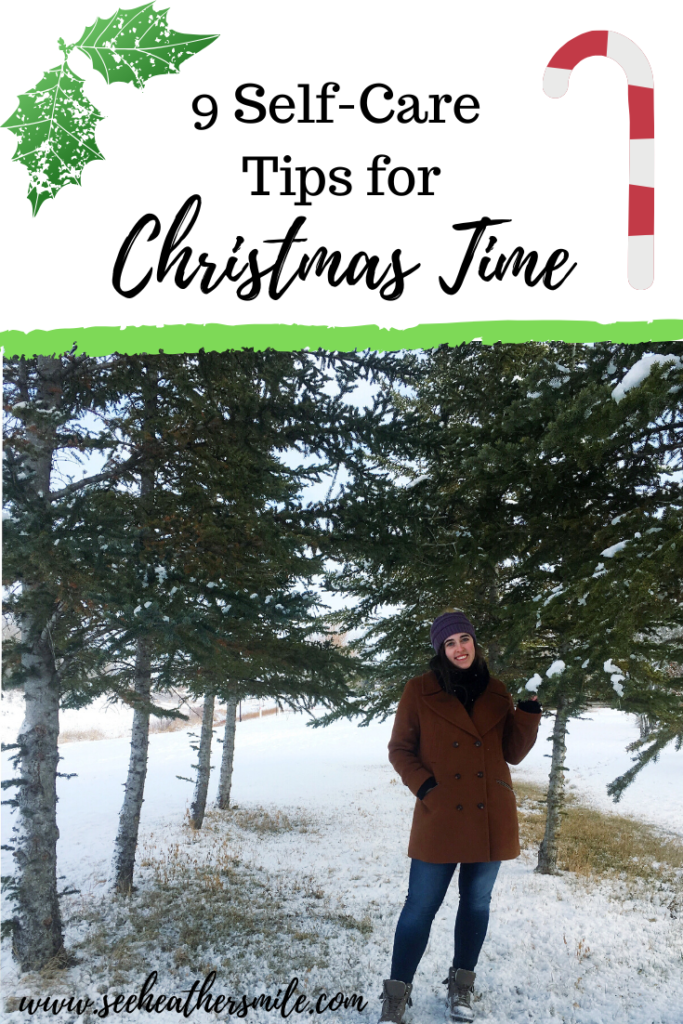 see heather smile, self-care, self-care tips, tips, christmas, christmas time, holidays, wellbeing, health, lifestyle