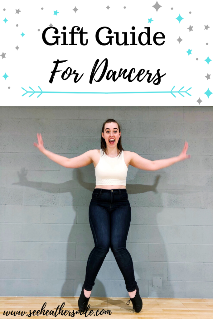 see heather smile, gift guides, dancers, choreography, tap dance, musical theatre, stage, performer, dancing, christmas, holidays