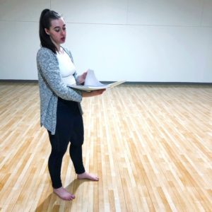 see heather smile, instructor, rehearsal, dance, choreographer, dancer, theatre, theater, studio, instruction
