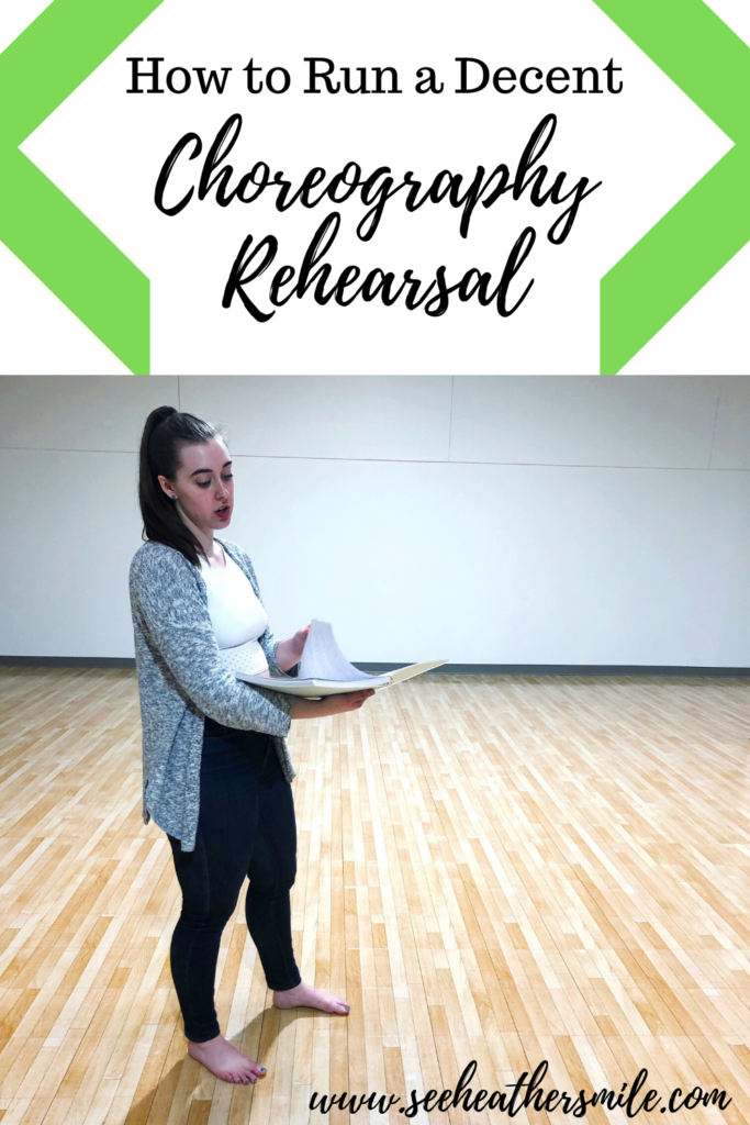 see heather smile, how to, choreography, rehearsal, choreography rehearsal, instructor, dance, theatre, theater