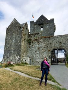 see heather smile, castle, castle on the hill, ireland, irish castle, history, historic