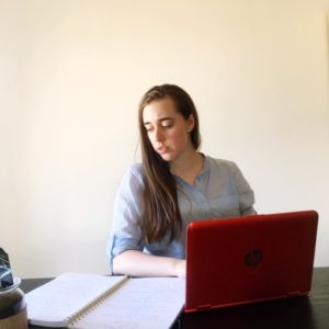 see heather smile, writing, laptop, work space, tabletop, office, notebook, writer, author
