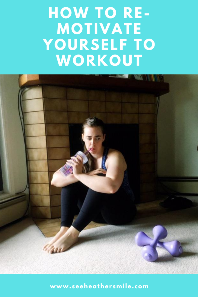 see heather smile, workout, exercises, weights, dumbbells, re-motivate, how to