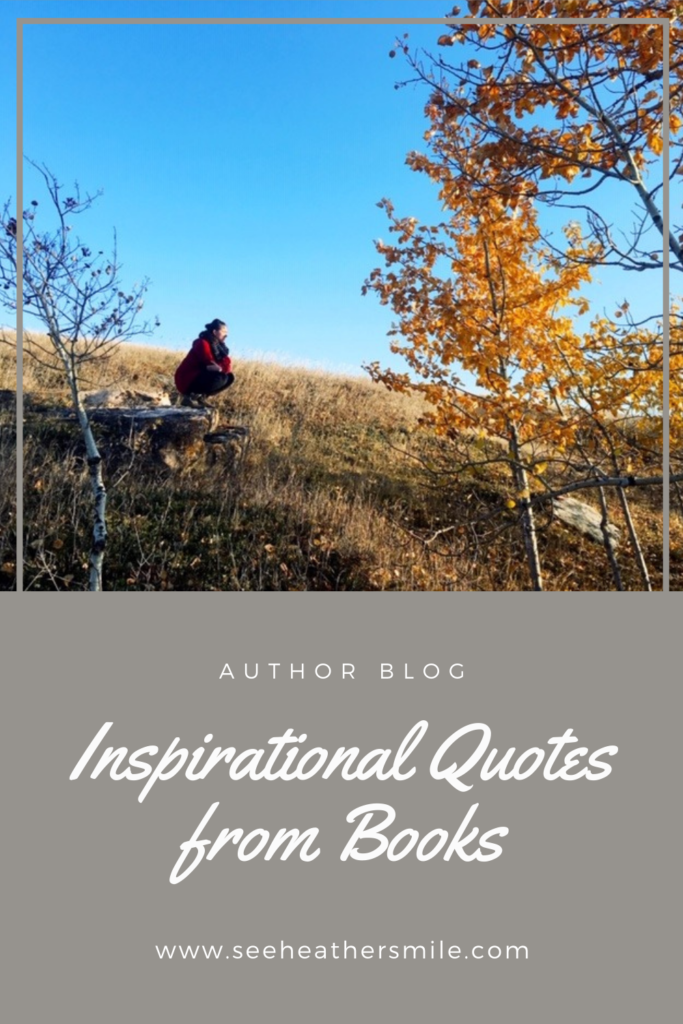 see heather smile, fall, autumn, trees, fall leaves, seasons, hill, grass, inspiration, inspirational, quotes, books, reading, fiction