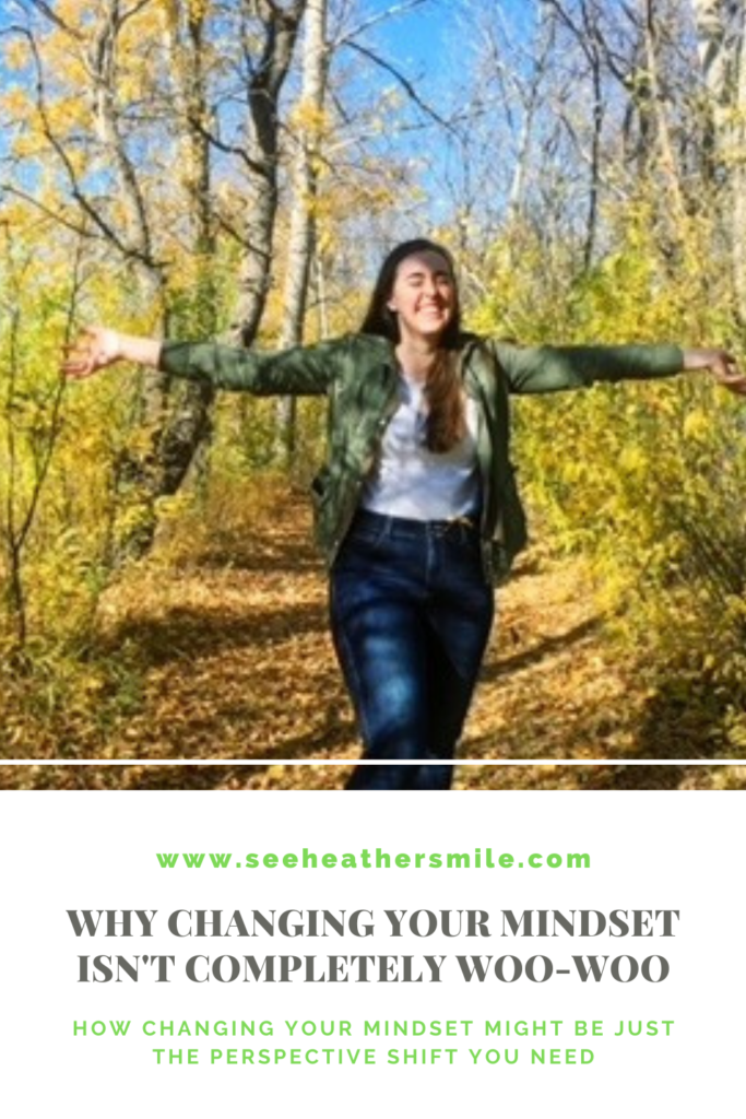 see heather smile, changing your mindset, mindset, shift, woo-woo, perspective, fall, autumn,