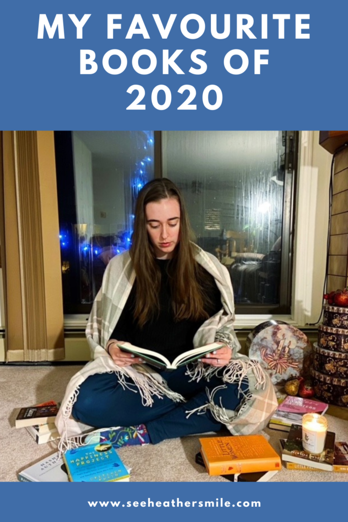 see heather smile, books, reading, novels, fiction, non-fiction, candle, favourite books, 2020, reflection, new year