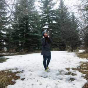 see heather smile, heather hataley, winter, spring, weather, nature, trees, forest, woods