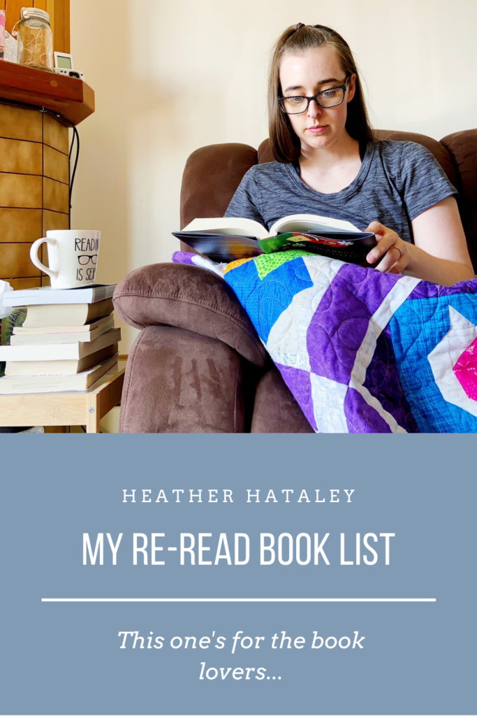 see heather smile, heather hataley, books, book lovers, read, tbr, to be read, reread, re-read