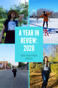 see heather smile, year in review, 2020, new year, new year reflection, reflection, goals, seasons
